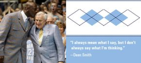 Gone but never forgotten! Coach Dean Smith